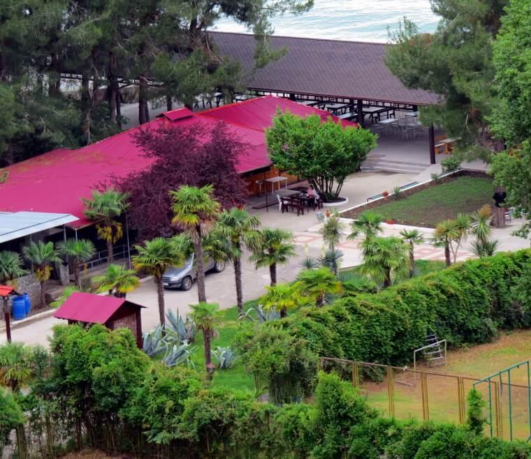 Апацха Охотничий двор, Дом отдыха Питиус в Пицунде, Абхазия