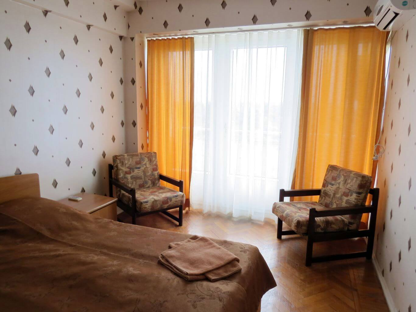 2-местный стандарт (однокомнатный), Дом отдыха Питиус в Пицунде, Абхазия