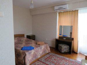 Полу-Люкс стандартный (однокомнатный), Дом отдыха Питиус в Пицунде, Абхазия